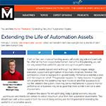 Extending the Life of Automation Assets